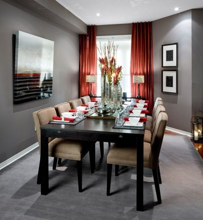 ديكورات غرف طعام بسيطة مودرن بديكورات جديدة ميكساتك