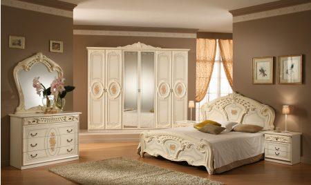 غرف نوم ايطالي بديكورات فخمة والوان جديدة ميكساتك
