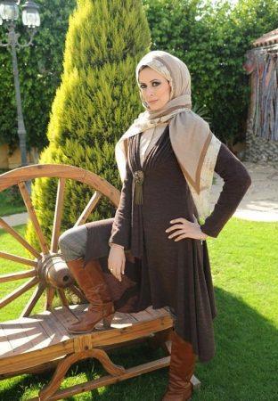 ازياء محجبات تركي ملابس وفاشون حجاب تركي (3)