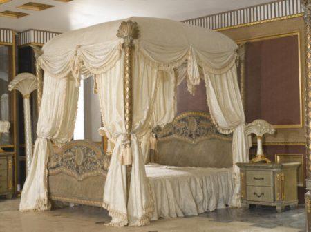 غرف نوم دمياط كلاسيك بافخم الديكورات 2017 (2)