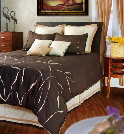 مفارش مودرن سرير فخمة حلوة جدا (1)
