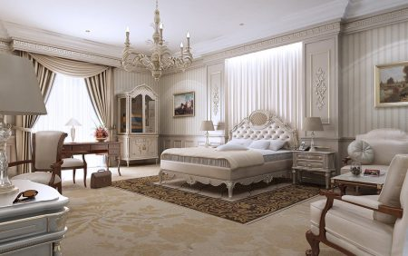 غرف نوم عرايس كاملة ديكورات غرف نوم رئيسية فخمة (1)