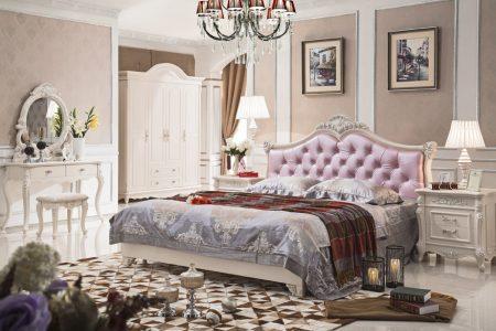 غرف نوم عرايس كاملة ديكورات غرف نوم رئيسية فخمة (3)