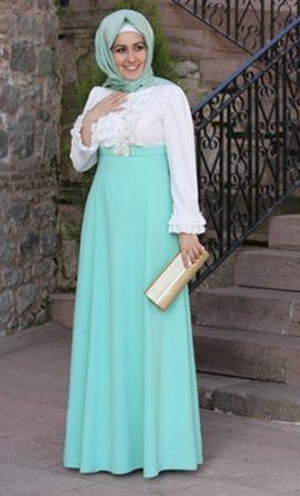 احدث فستان محجبات مودرن (3)