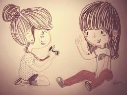 صور عن الصديقات (2)