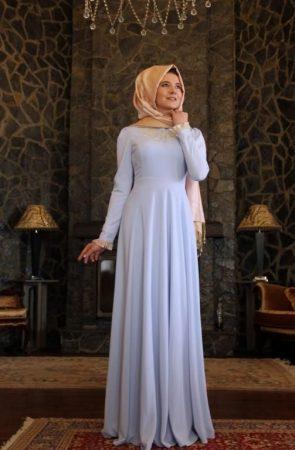 صور فستان محجبات 2017 (1)