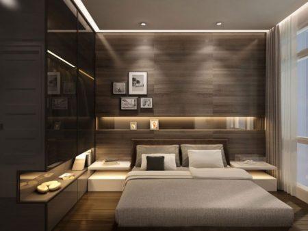 غرف نوم مودرن كاملة بالدولاب للعرسان (1)