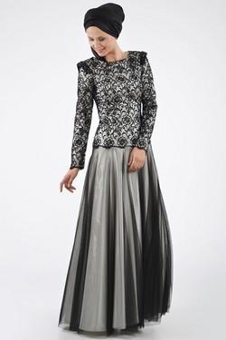 فساتين بنات محجبات 2017 تصميمات فستان للمحجبات (3)