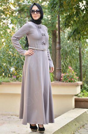 c440bcf61996f فساتين بنات محجبات 2017 تصميمات فستان للمحجبات