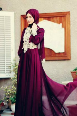 ملابس جديدة للبنات المحجبات 2017 باحدث الالوان (1)