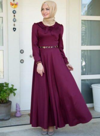 ملابس جديدة للبنات المحجبات 2017 باحدث الالوان (2)