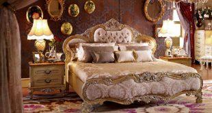 احدث غرف نوم كلاسيك (2)
