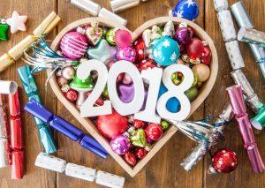بطاقات تهنئة لرأس السنة الميلادية 2018 (2)