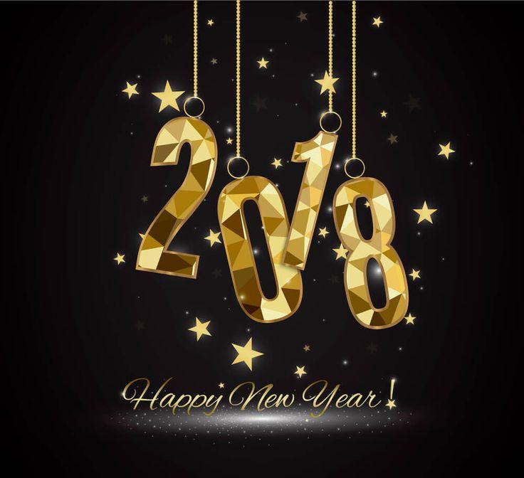 بطاقات و كروت تهنئة لرأس السنة الميلادية 2018 (1)