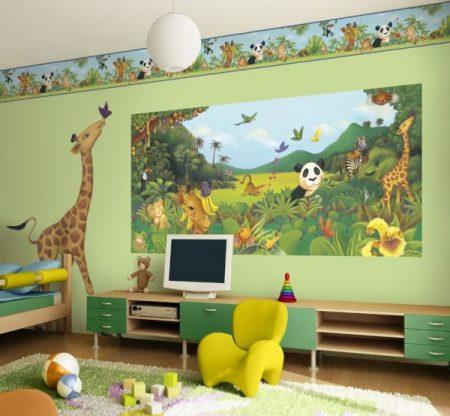 اجمل و احدث ديكورات غرف اطفال 2018 (2)