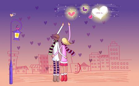 خلفيات و رمزيات عن عيد الحب (1)