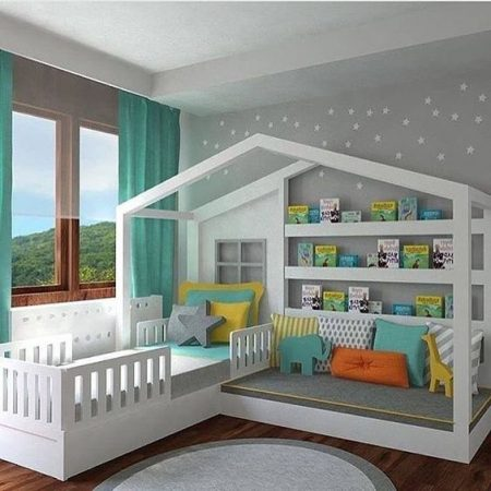 ديكورات غرف اطفال 2018 مودرن (2)