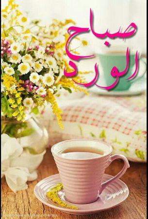 رمزيات صباح الورد حلوة (1)