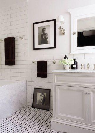 صور حمامات 2018 ديكورات حمامات فخمة شيك و عصرية (1)