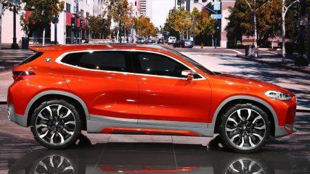 bmwx2الفارهة bmw-x2-orange-450x25