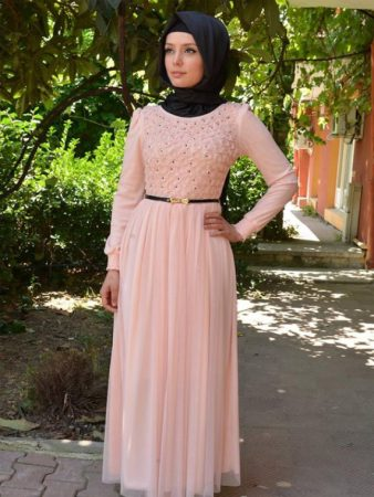 احدث موضة ملابس محجبات صيفي 2018 (3)