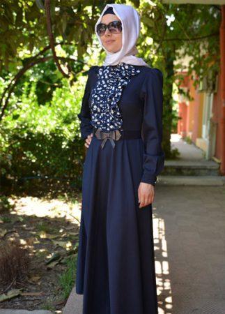 ازياء محجبات صيف 2018 احدث موضة ملابس محجبات (3)