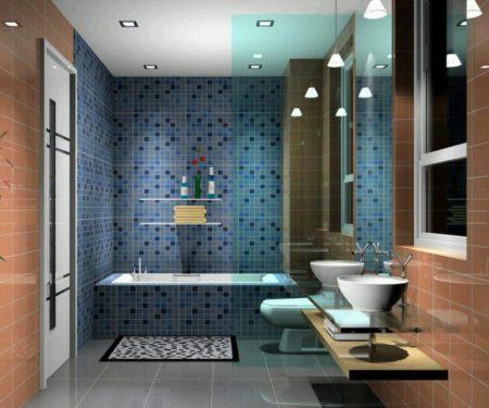 ديكورات حمامات مودرن 2018 احدث ديكورات حمامات بسيطة (2)
