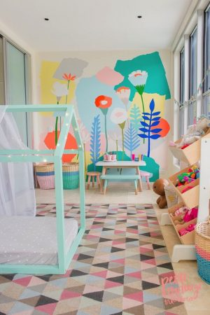 غرف اطفال الوان مودرن 2018 (1)
