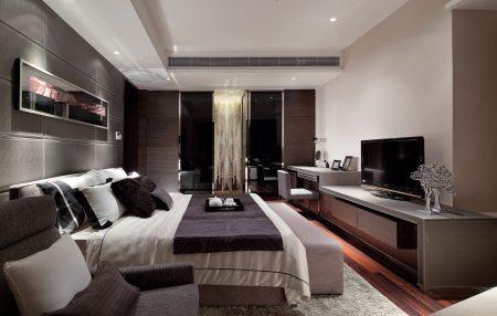 احدث ديكورات غرف نوم جديدة مودرن عصرية (3)