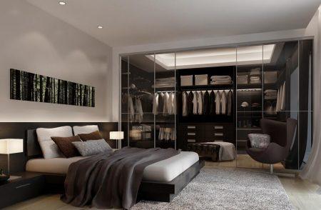 احدث ديكورات غرف نوم عصرية مودرن للعرسان غرف فخمة (3)