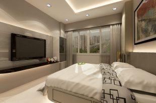 احدث ديكورات غرف نوم عصرية مودرن للعرسان (1)