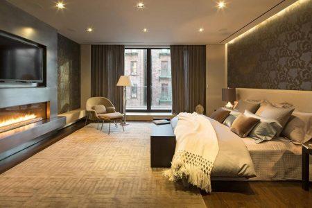 احدث ديكورات غرف نوم عصرية مودرن للعرسان (3)