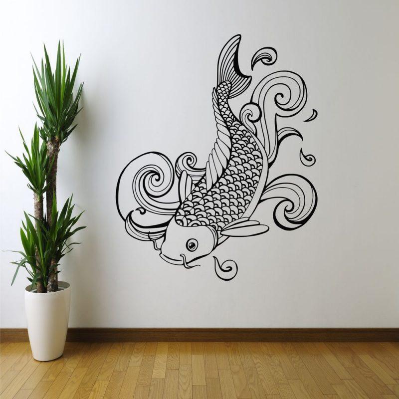 استنسل حوائط احدث اشكال رسومات استنسل جدران (2)
