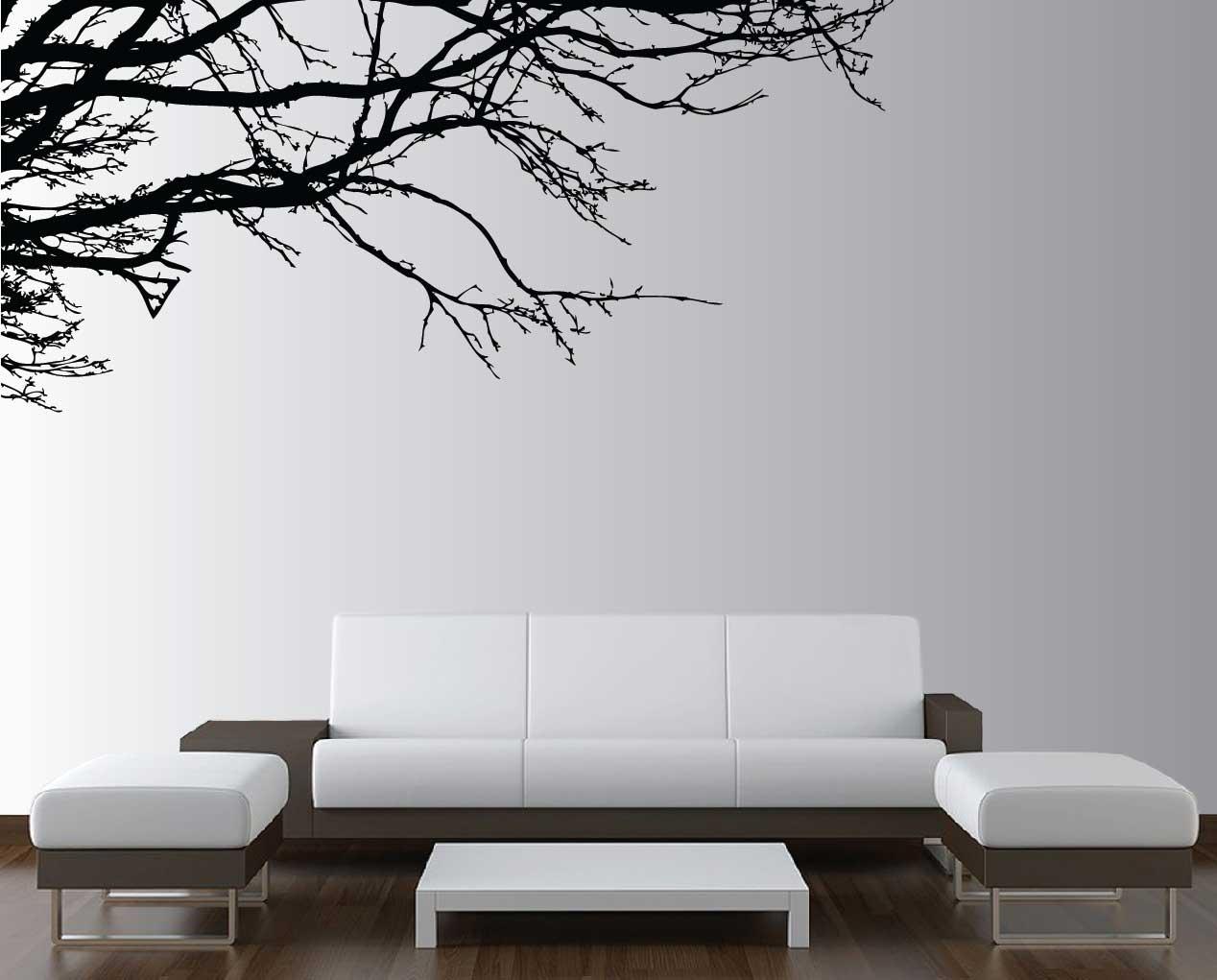 - Stencil parete albero ...