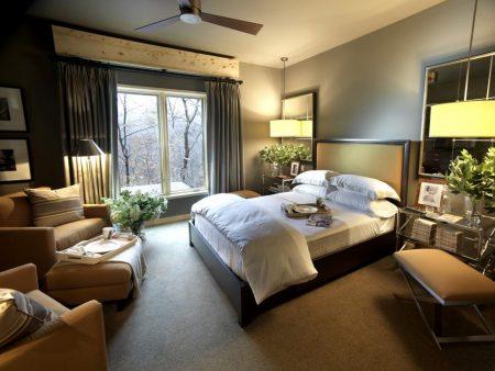تشطيبات و ديكورات غرف نوم (1)