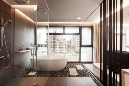 ديكورات حمامات فلل (1)