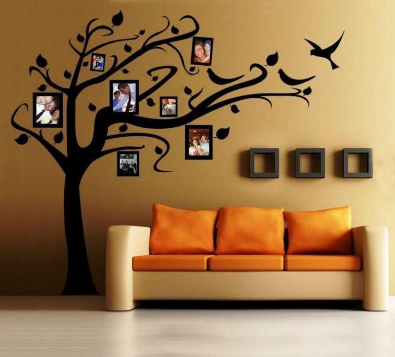 رسومات استنسل حوائط و جدران (3)