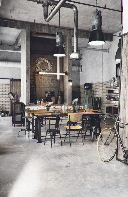ديكور كافيه و مطعم (1)