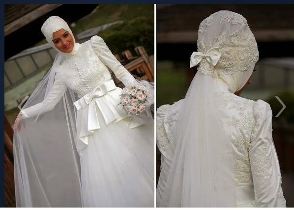 فساتين زفاف محجبات2018 (1)