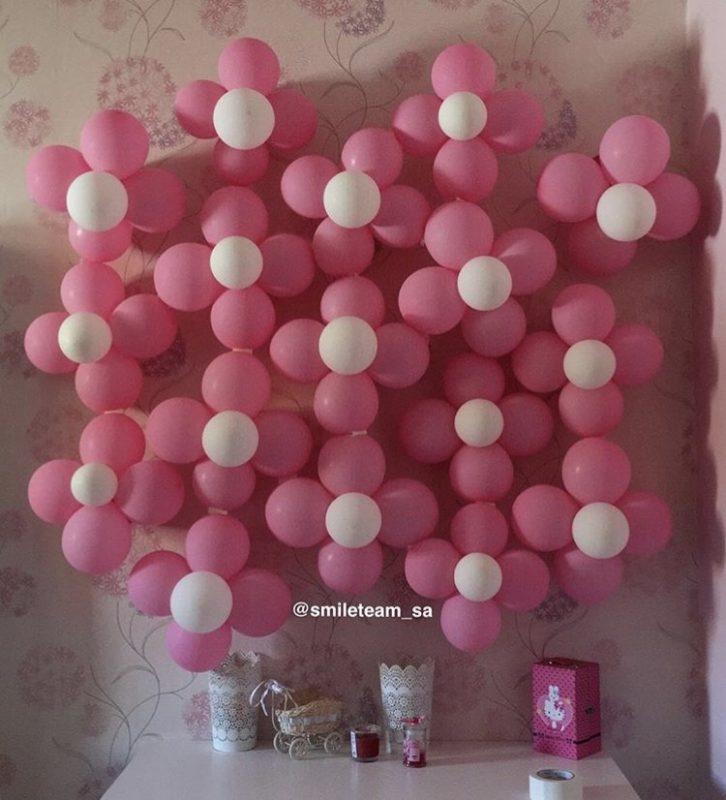 افكار بالونات للولادة