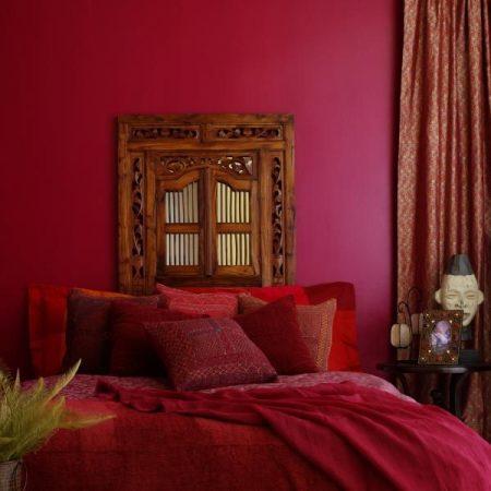 احدث دهانات غرف نوم حمراء (3)