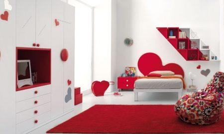 احمر غرف نوم تشطيبات غرف عرسان