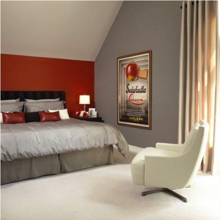 تشطيبات غرف عرسان حمراء (2)