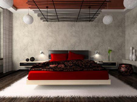 دهان احمر غرف نوم (1)