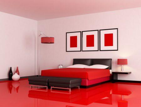 صور غرف نوم احمر (3)