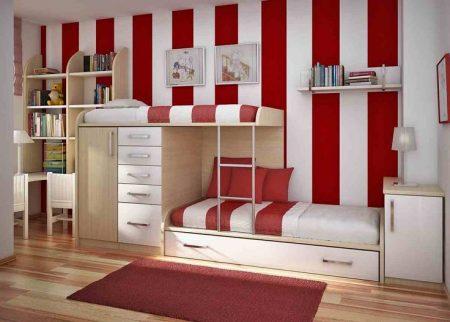 صور غرف نوم حمراء جميلة (2)