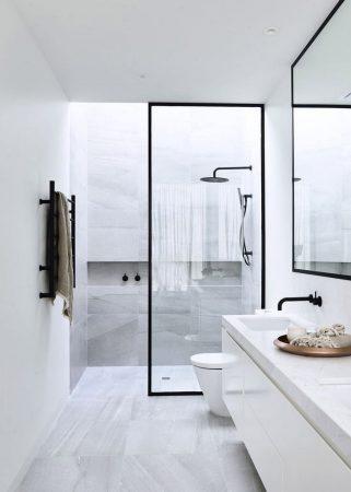 احدث حمامات 2019 ديكورات حمامات حديثة فخمة (1)