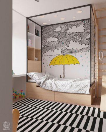 احدث ديكورات غرف اطفال 2019 (2)