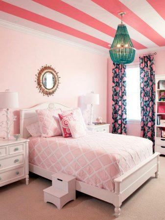 احدث صور غرف نوم وردي بينك روز