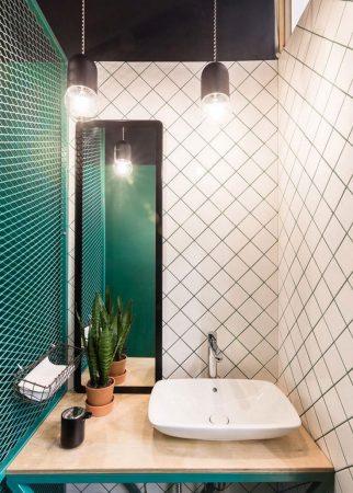 ديكورات حمامات 2019 احدث ديكورات حمام مودرن فخمة (3)
